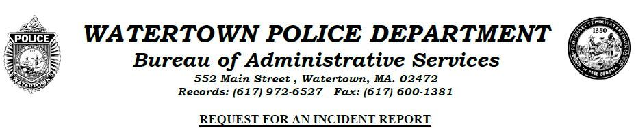 Watertown Police, MA