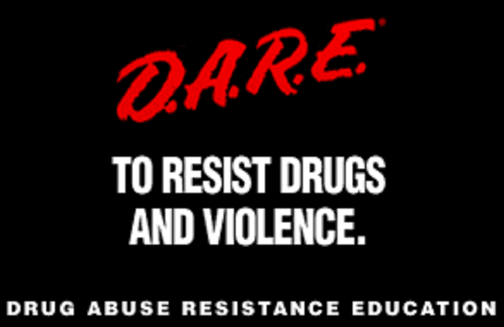 Drug Abuse Resistance Education (D.A.R.E.) logo