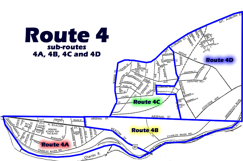 Route 4 Patrol Map