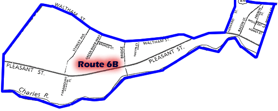 Route 6B Map